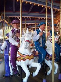 The Pearlies perform on King Arthur Carrousel by Loren Javier, via Flickr