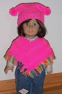 KNITTING PATTERN GIRL PONCHO 1000 Free Patterns