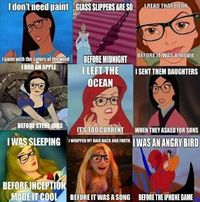 Disney Hipsters. I thought this was funny before it was a meme...
