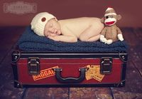 sock monkey newborn