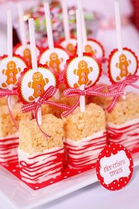 Rice Crispy Treats (as gifts, kids class, Christmas�€�)