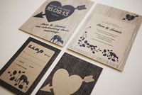 love these printable rustic invites from three eggs design