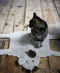 Mouse rug for the kitty - you have to make your feline friend one!
