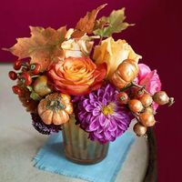 Nice fall table topper.