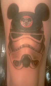 Disney and Star Wars. Artwork By Jimmy at Colorfast in Coral Springs, FL