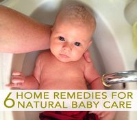 home remedies for natural baby care