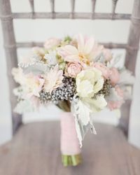 Pink and Grey Bouquet