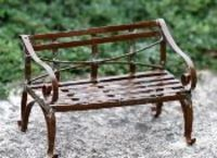 French garden bench, most elegant in look perfect to suit any garden style