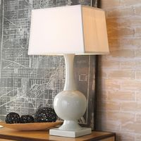Ceramic Genie Bottle Table Lamp $380