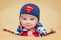 That's my guy!! Love this super cute hat on him!!! :)