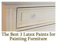 best latex paints for furniture