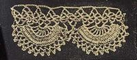 Vintage crochet lace. No. 4 Paddle Wheel Lace