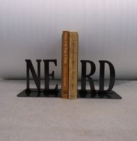 nerd, bookends