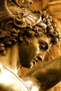 Benvenuto Cellini �€Perseus with the Head of Medusa�€ Bronze ~ Florence