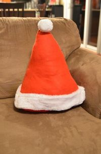Tutorial: Make a Santa Hat Accent Pillow