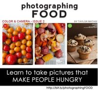 Photographing FOOD issue 2 Learn How to Make People Hungry! from