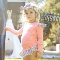 My Idea of a little girl! A little pink with a little ROCK! bangbang the belly belt - | Thumbe Line