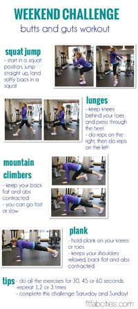 butts-and-gutts workout