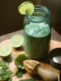 My New Roots: The Mojito Smoothie