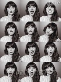 The many faces of Zooey Deschanel