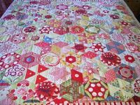 "FREE tutorial: ""Hexalong"" from Gayle Brindley's Blog"