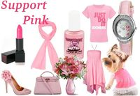 Show Support For Pink Ribbon!