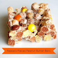 Reeses Pieces Peanut Butter Bars