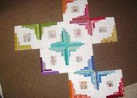 Simple Sewendipity: British Bookworms quilt (in progress) Brilliant!