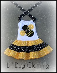cute bumble bee dress
