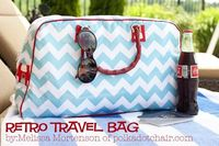 icandy handmade: (eyeCandy) Retro Travel Bag