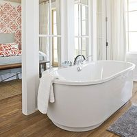 French Doors/Glass Walls for master suite