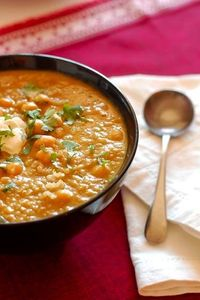 Squash & Chickpea Moroccan Stew from Smitten Kitchen via momfilter