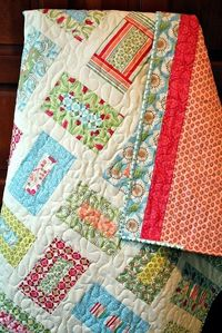 This cute and easy quilt would be great for gifts