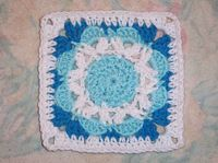 "Free pattern for ""Jubilee Square 6x6"" by Donna Mason-Svara!"