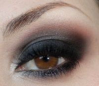 Sultry Silver Smokey Eyes