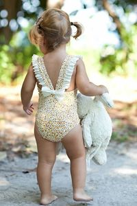 love this swimsuit for a little girl