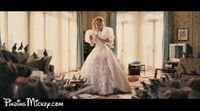 Giselle and New York City's animals sing the Happy Working Song while cleaning Robert's apartment. The scene was a direct reference to the Whistle While You Work sequence from Snow White and the Seven Dwarves, except the cute woodland creatures we...