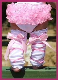 Ballerina Baby- This is so adorable! '8482;'