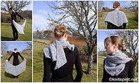 Shawl I Stay or Shawl I Go? pattern by Gaëlle GUERIN