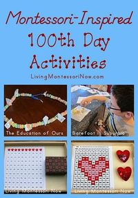Montessori-Inspired 100th Day Activities