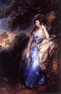 Lady Bate-Dudley by Thomas Gainsborough