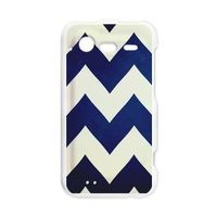Droid Incredible 2 - Navy Chevron case