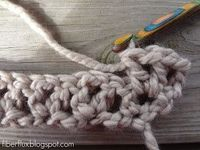 Fiber Flux...Adventures in Stitching: How to Crochet the V Stitch