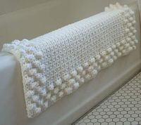 crochet a very nice bath mat for your home. This really is a beautiful design.