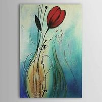 Charming Flower Oil Painting Free Shipping