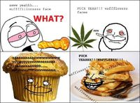 Stoner chill vs amped munchie face- Lol Jaja