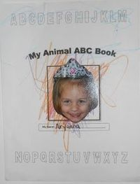 Classified: Mom: Preschool Animal Alphabet Art Book