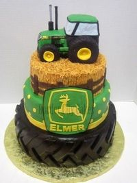 Tractor Cake!