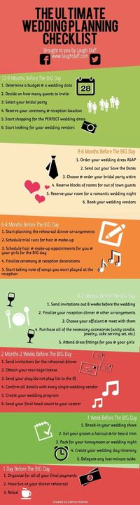 The Ultimate Wedding Checklist