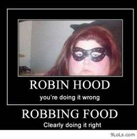 This is Robin Food http://9lols.com/this-is-robin-food/